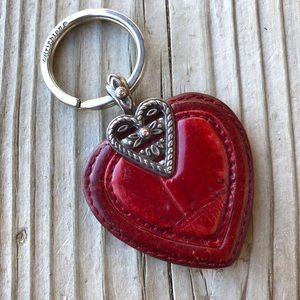 Beautiful Brighton Leather Keyfob or Handbag Charm